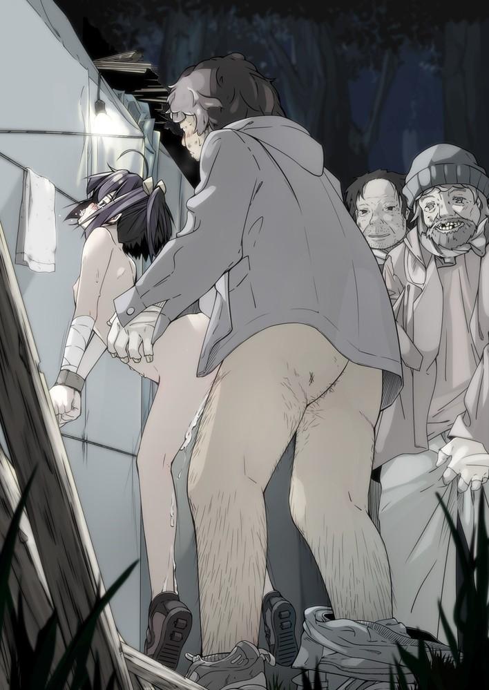 おっさん 犯される オヤジ レイプ 二次元 エロ画像【45】