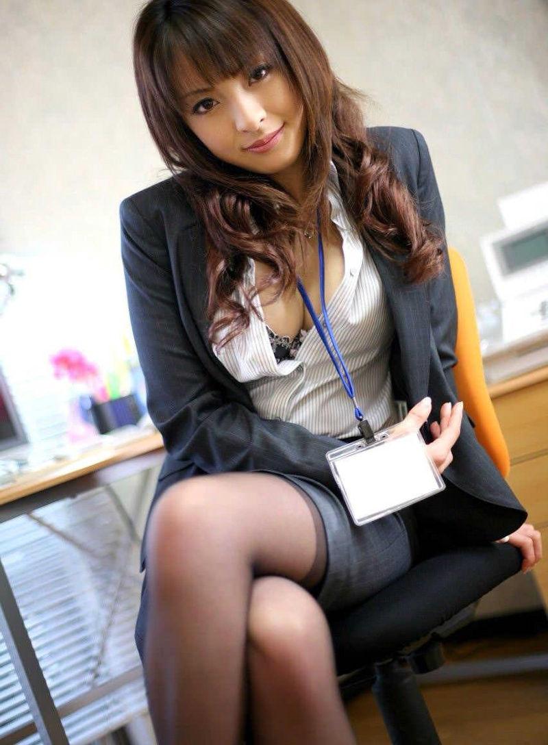 美人 綺麗 OL エロ画像【49】