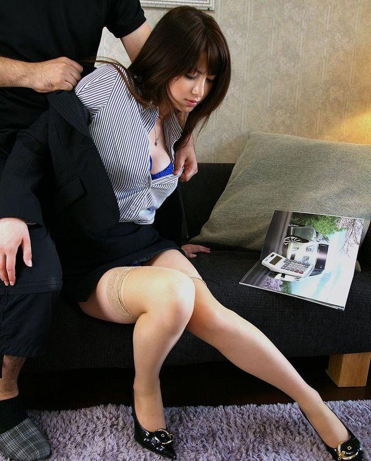 美人 綺麗 OL エロ画像【50】