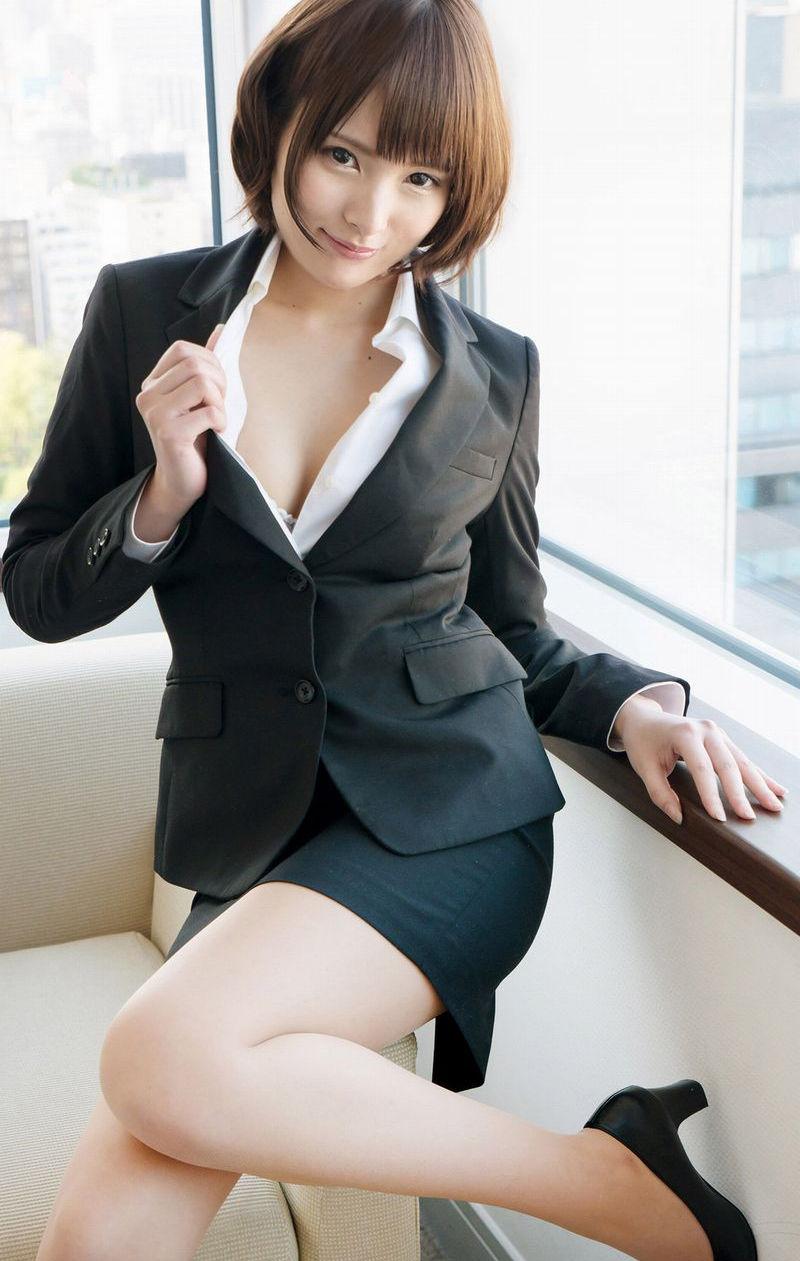 美人 綺麗 OL エロ画像【53】