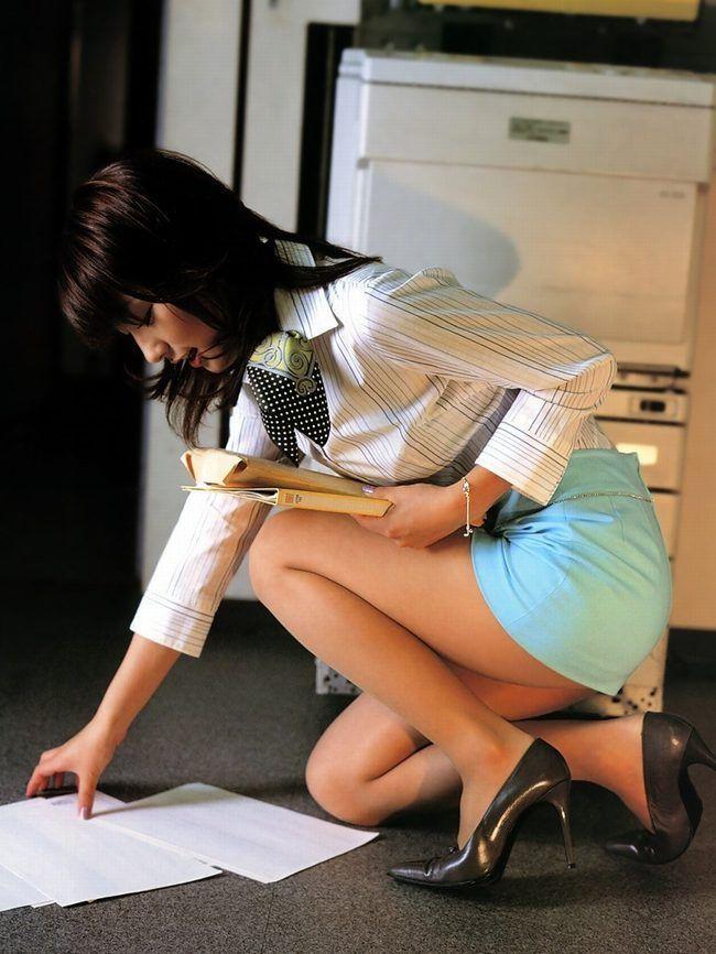 美人 綺麗 OL エロ画像【56】