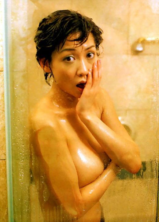 細川ふみえ 全裸 熟女 芸能人 おばさん ヌード エロ画像【6】