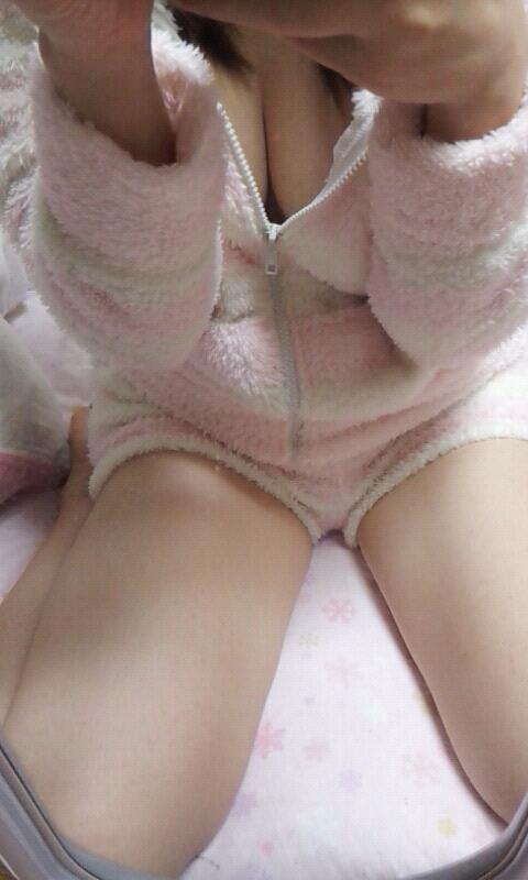 もこもこ パジャマ 可愛い 冬 寝巻き エロ画像【6】