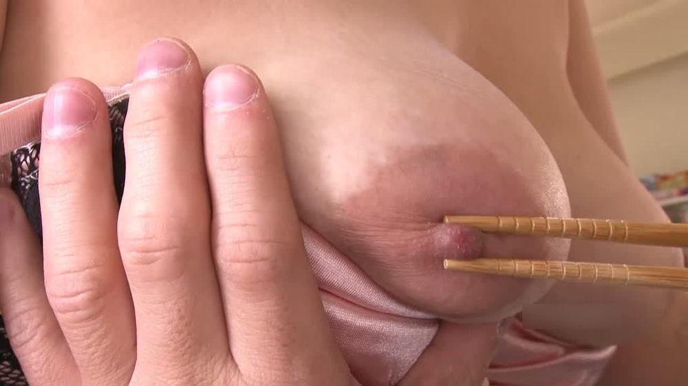 箸 まんこ 乳首 挟む つまむ エロ画像【17】