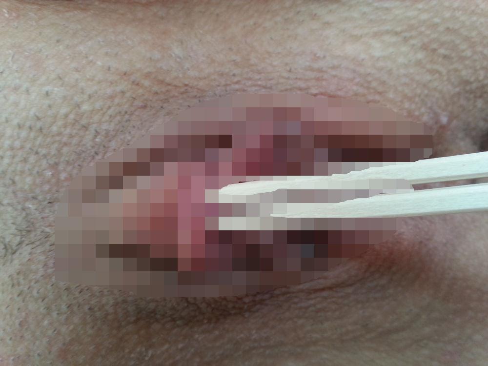 箸 まんこ 乳首 挟む つまむ エロ画像【33】