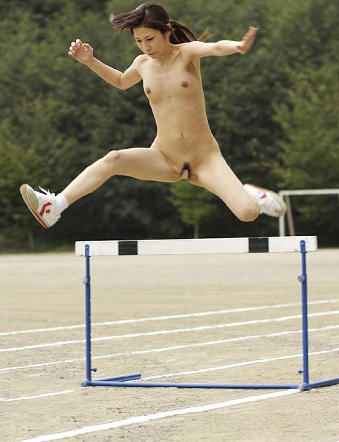 日本人 裸 運動 全裸スポーツ エロ画像【15】