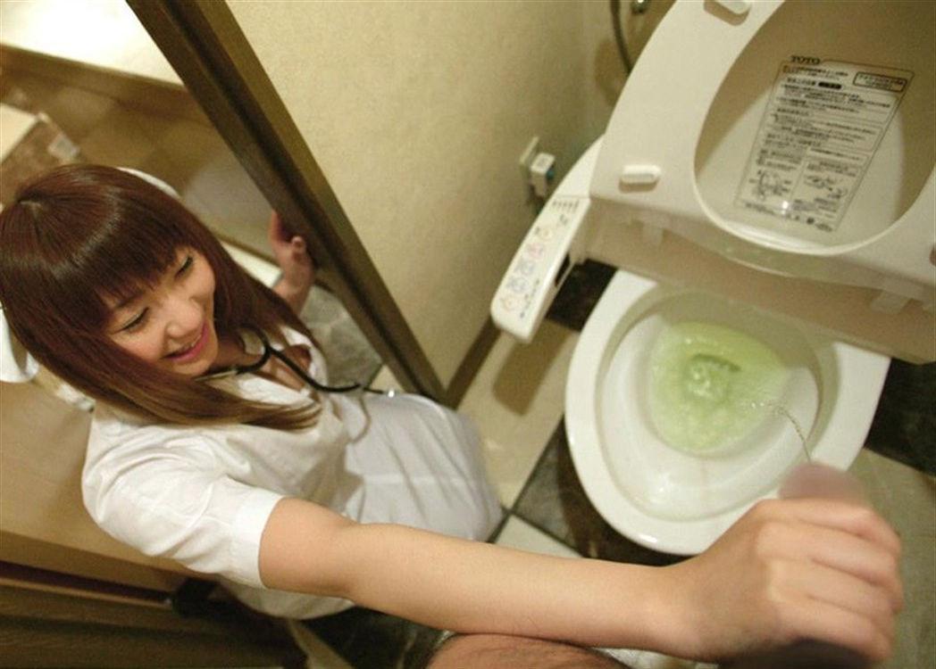 ナース おしっこ おもらし 放尿 看護師 エロ画像【28】