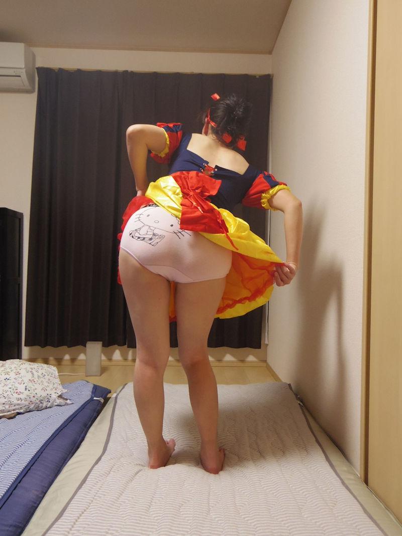 おばちゃん アニメ オタク コスプレ 熟女 エロ画像【18】
