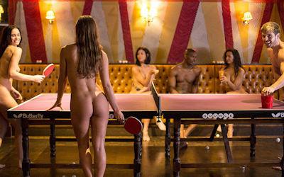 外国人の卓球がエロいセクシーピンポン画像集 ①