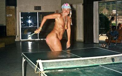 外国人の卓球がエロいセクシーピンポン画像集 ④