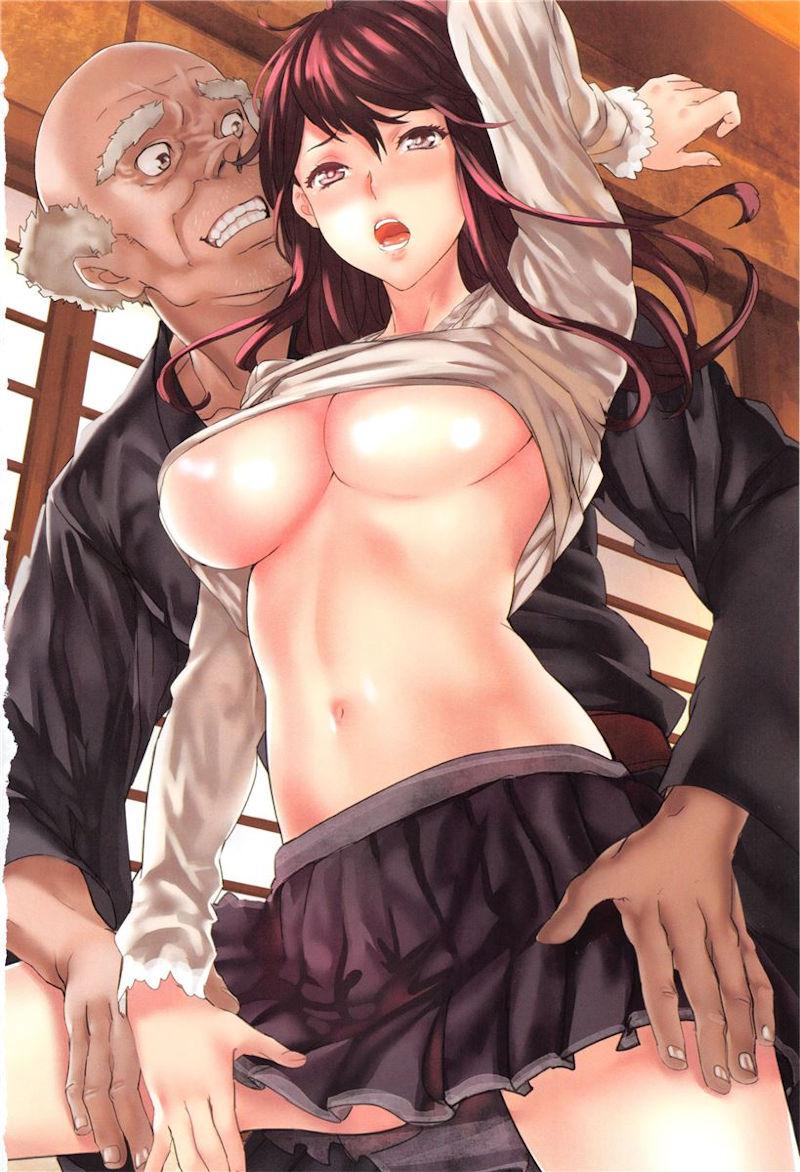 はげ おっさん 性欲が強い 二次元 エロ画像【49】