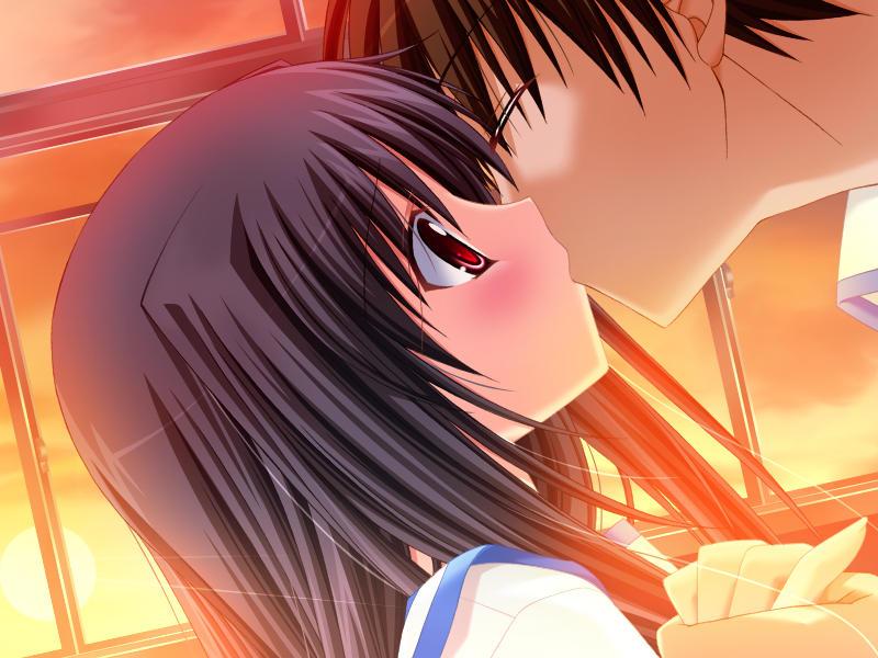 カップル 幸せ キス 二次元 エロ画像【5】