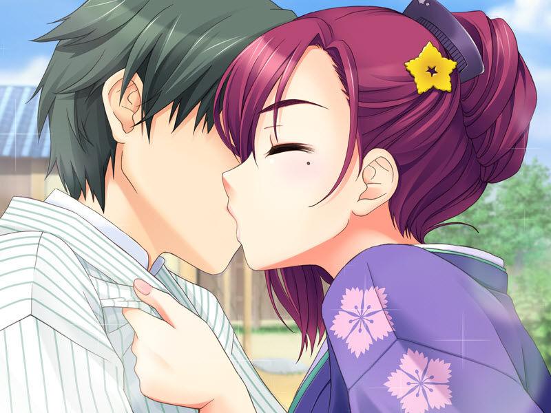 カップル 幸せ キス 二次元 エロ画像【31】