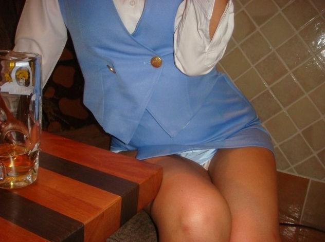 OL 座りパンチラ エロ画像【54】