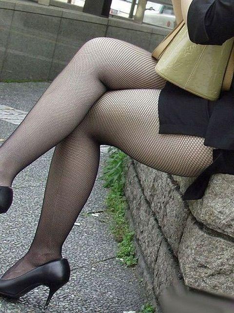 セクシー OL 網タイツ エロ画像【30】