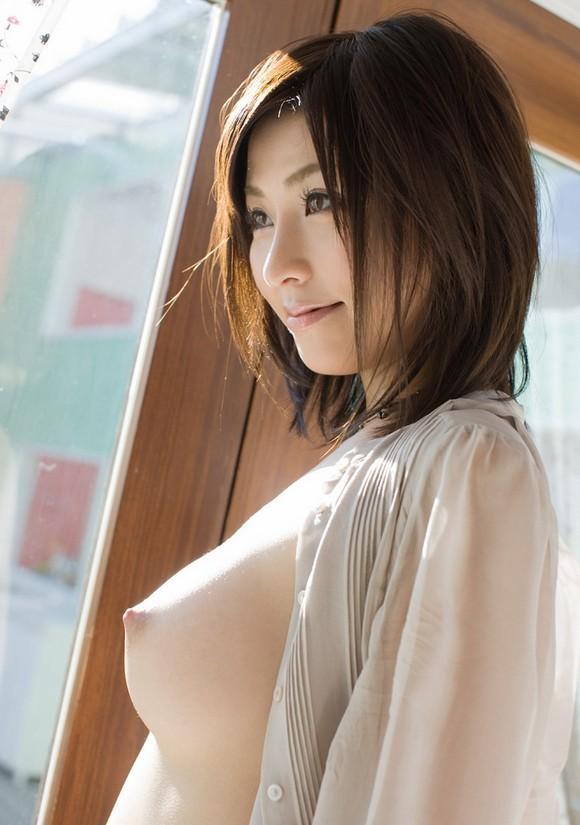 美乳 横乳 綺麗 横撮り おっぱい エロ画像【5】