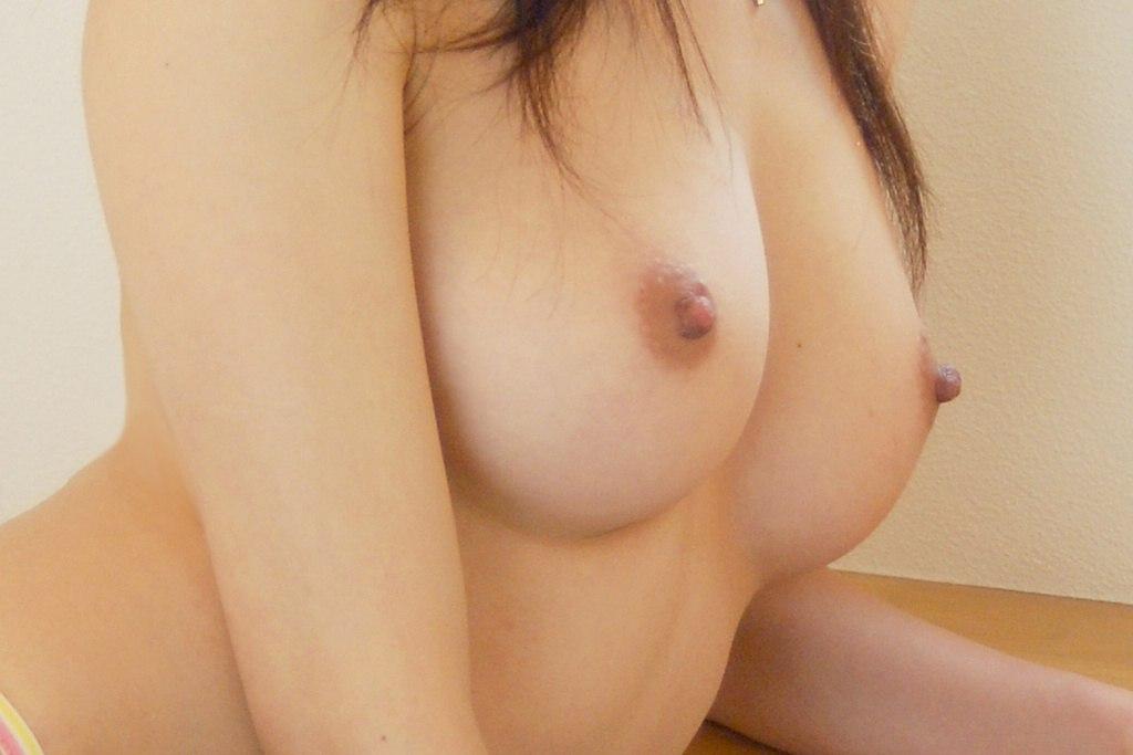 美乳 横乳 綺麗 横撮り おっぱい エロ画像【12】