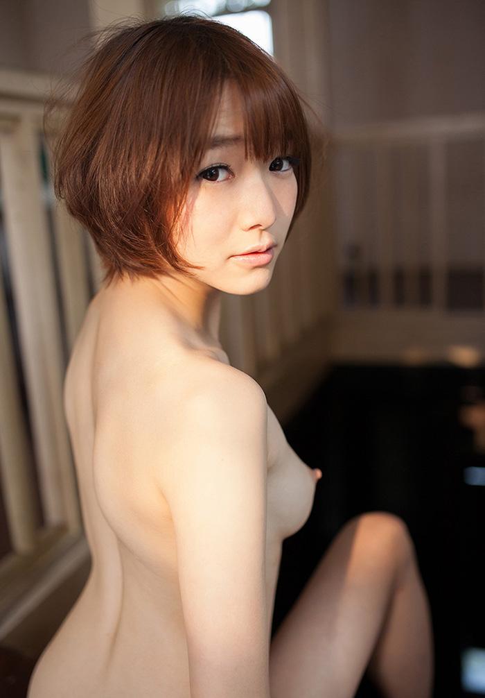 美乳 横乳 綺麗 横撮り おっぱい エロ画像【23】