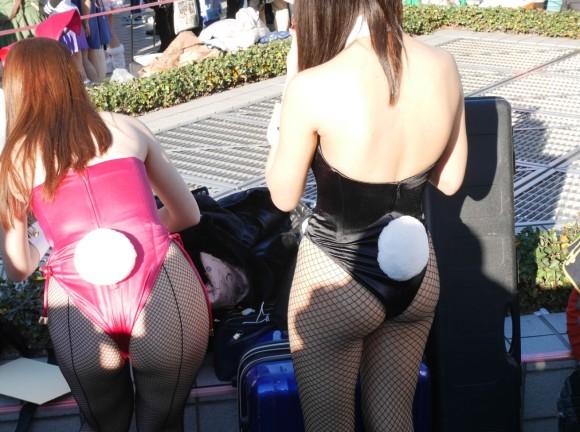 バニーガール お尻 ウサギの尻尾 エロ画像【65】