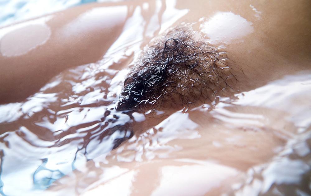 マン毛 びちょびちょ 濡れる お風呂 陰毛 エロ画像【8】