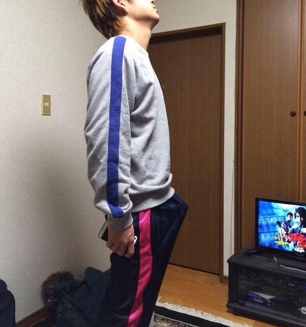 もっこり ハミチン 体操服 ジャージ 男 エロ画像【5】