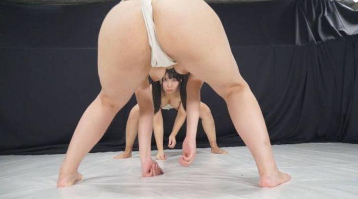まわし 女相撲 はっけよい のこった エロ画像【9】
