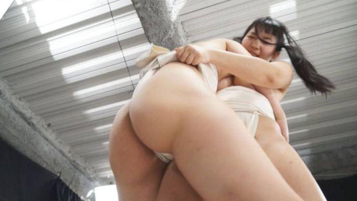 まわし 女相撲 はっけよい のこった エロ画像【10】