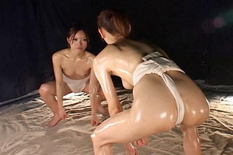 まわし 女相撲 はっけよい のこった エロ画像【18】