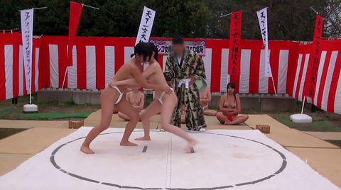 まわし 女相撲 はっけよい のこった エロ画像【32】
