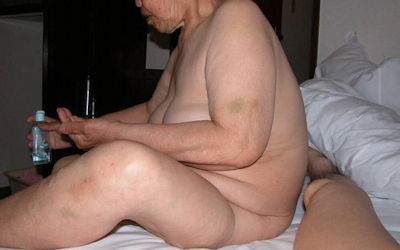 ババアが脱いだ!婆さんが全裸なおばあちゃんヌード画像集 ①
