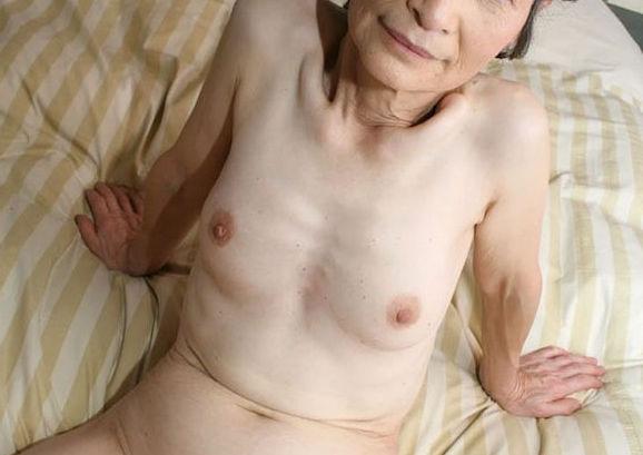 ババア 婆さん 全裸 おばあちゃん ヌード エロ画像【14】