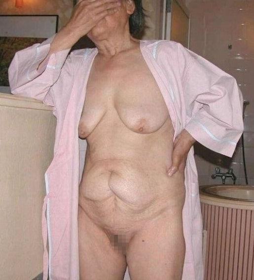 ババア 婆さん 全裸 おばあちゃん ヌード エロ画像【21】
