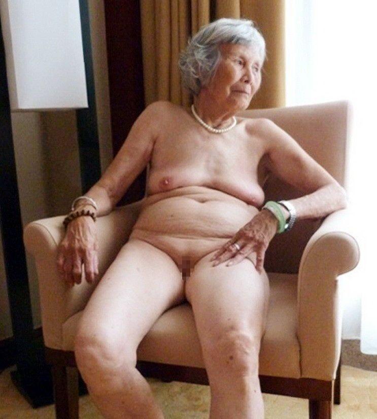 ババア 婆さん 全裸 おばあちゃん ヌード エロ画像【26】