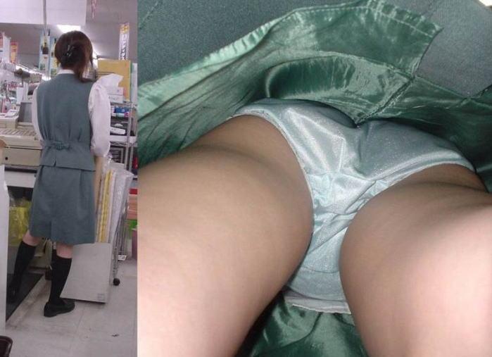 リアル OL 本物 パンチラ エロ画像【18】