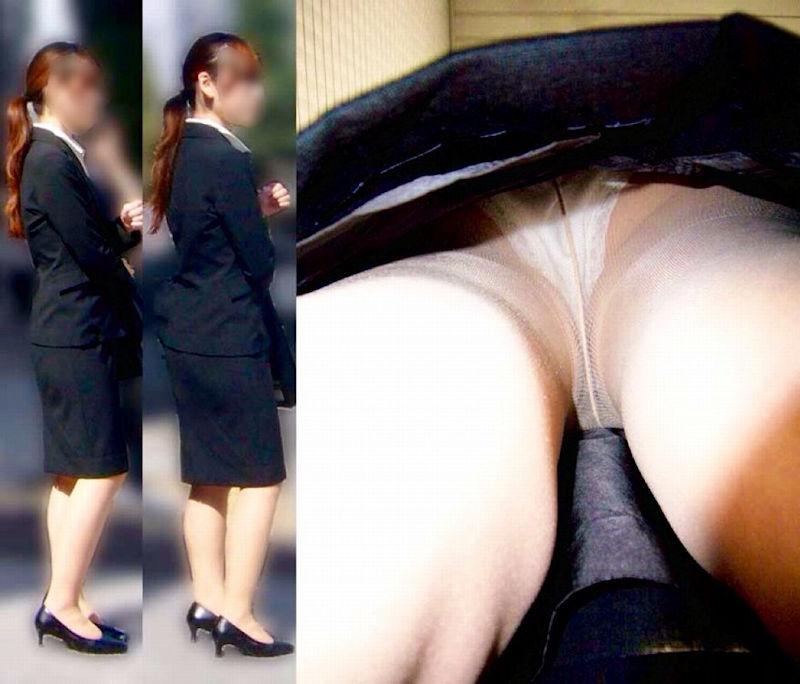リアル OL 本物 パンチラ エロ画像【33】