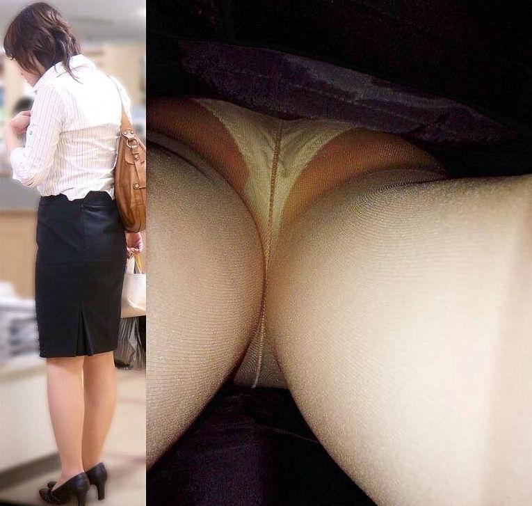 リアル OL 本物 パンチラ エロ画像【34】