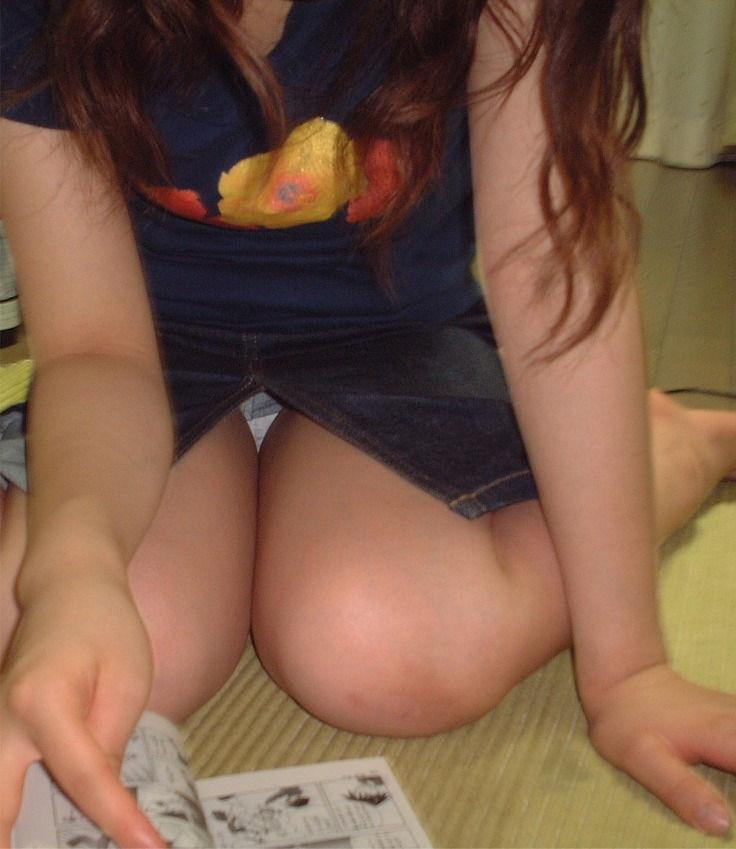女の子座り パンチラ パンツ ペタン エロ画像【23】