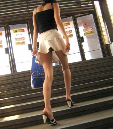 パンツ 風パンチラ Tバック ハプニング エロ画像【21】