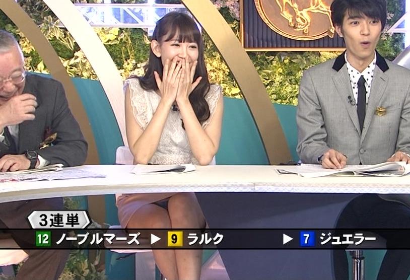 競馬番組 レア パンチラ パンツ エロ画像【12】