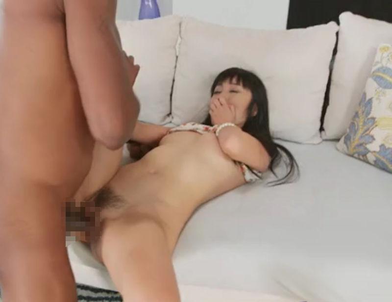日本人女性 巨根 黒人男性 セックス ハード エロ画像【12】