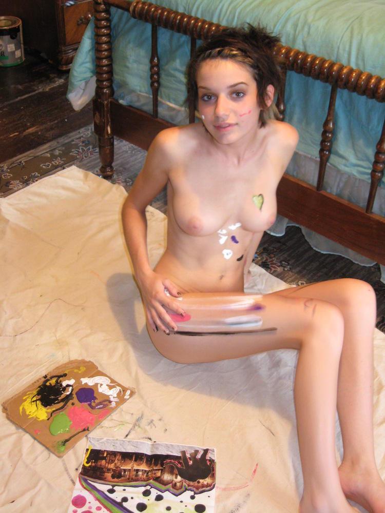 外国人 美女 美少女 全裸 セクシー ヌード エロ画像【6】