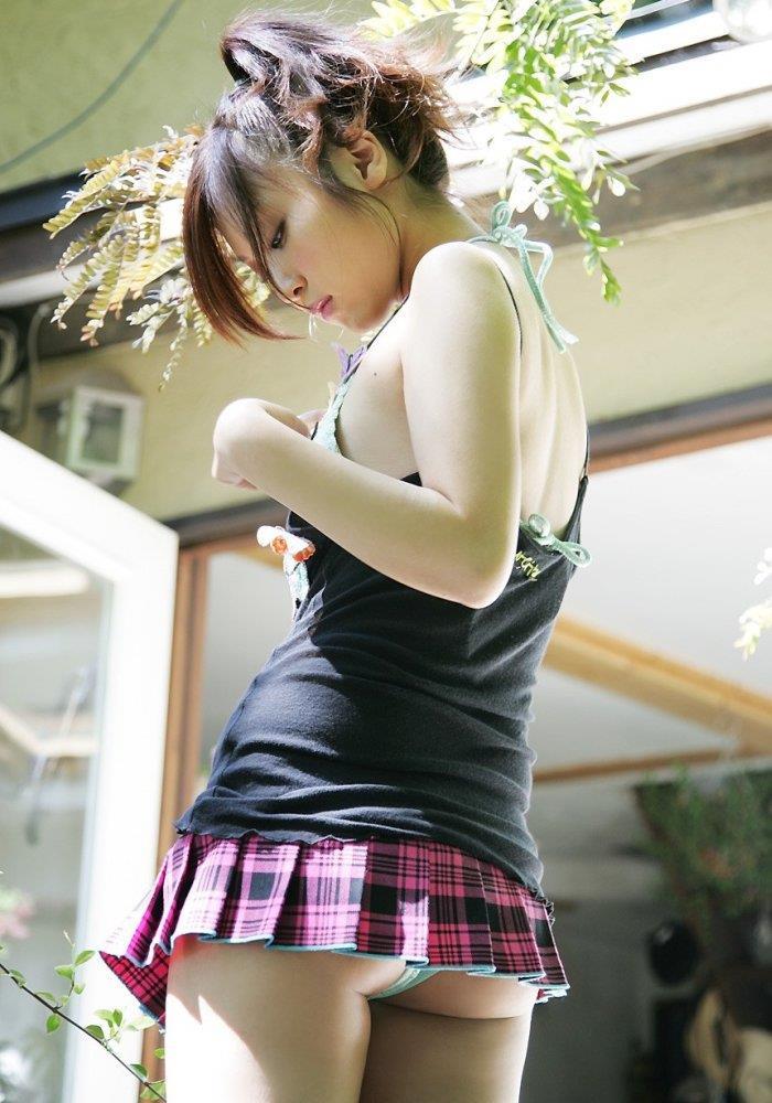 ミニスカ 美女 美脚 パンチラ エロ画像【40】