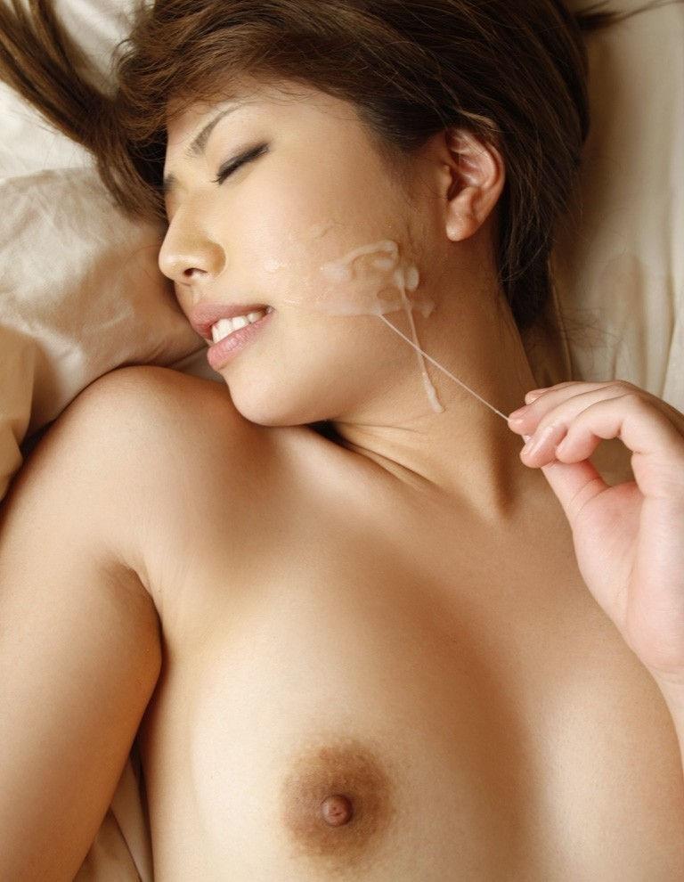 糸引き ザーメン ぶっかけ 精子 指 ビヨーン エロ画像【8】