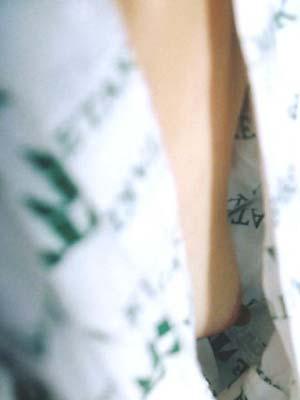片乳首 チラリ 片乳 ポロリ ノーブラ 浴衣 エロ画像【17】