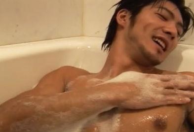 イケメン ヌード シャワー お風呂 濡れる エロ画像【9】