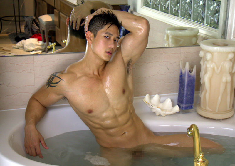 イケメン ヌード シャワー お風呂 濡れる エロ画像【11】