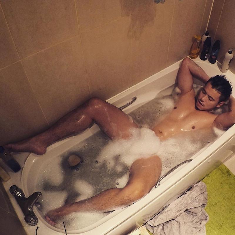 イケメン ヌード シャワー お風呂 濡れる エロ画像【25】