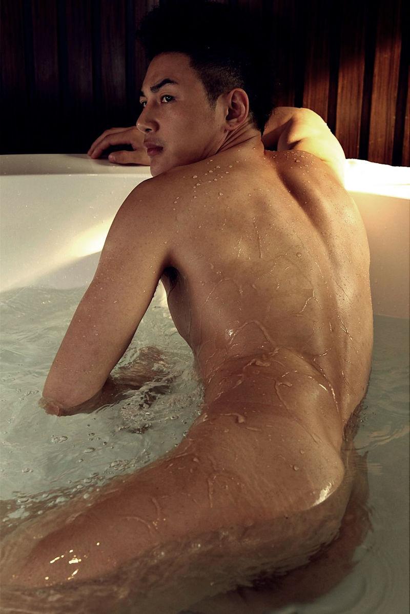 イケメン ヌード シャワー お風呂 濡れる エロ画像【27】