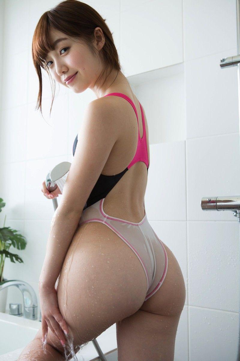 デカ尻 貧乳 おっぱい お尻 大きい エロ画像【22】