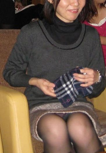 おばちゃん パンチラ ミニスカ 熟女 エロ画像【24】
